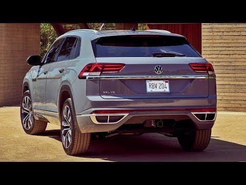 2020 Volkswagen Atlas Cross Sport - interior Exterior and Drive