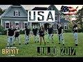 Briyit y su banda en  Connecticut Y Virginia  EE.UU JULIO 2017 |