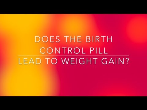 does-the-birth-control-pill-lead-to-weight-gain?