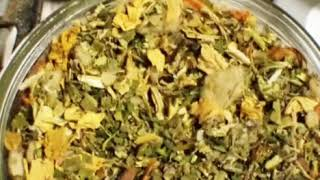 Visualize herbal smoke and Ceremonial tobacco blend for Samhain