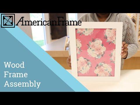Assembling a DIY Wood Frame Tutorial