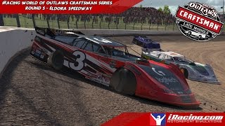 iRacing - World Of Outlaws Craftsman Series Week 5 - Super Late Model @ Eldora Speedway