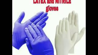 Latex gloves vs nitrile gloves | difference | Dr Jyoti Agarwal