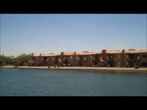 Waterfront Views from the Toscana Lakeside Condominiums in Ahwatukee