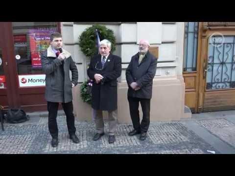 Mach a Payne o Aloisi Rašínovi, zakladateli Československa - reportáž z pietního aktu Svobodných