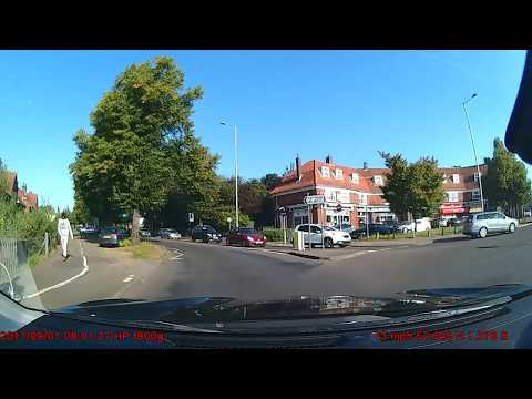 Dashcam Footage | Norwich | Car Hits Police Car