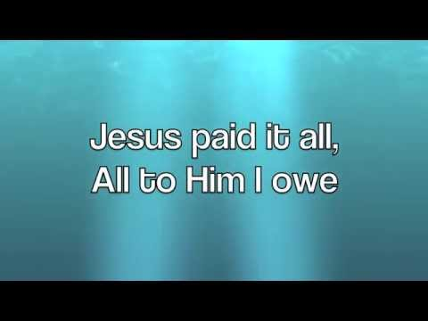 His Life For Mine with Jesus Paid It All