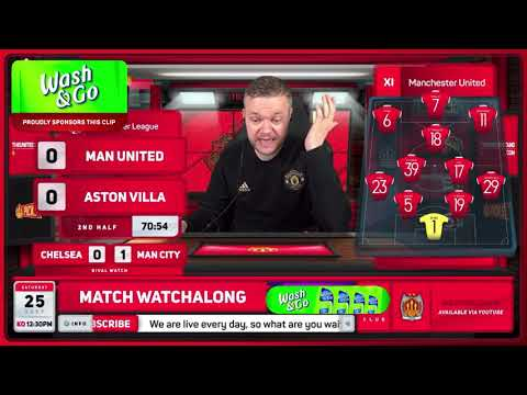 GOLDBRIDGE Best Bits | Man United 0-1 Aston Villa