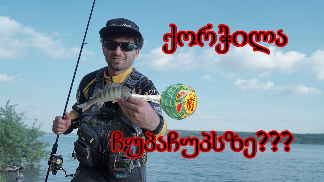 თევზაობა ქორჭილაზე ჩუპაჩუპსით