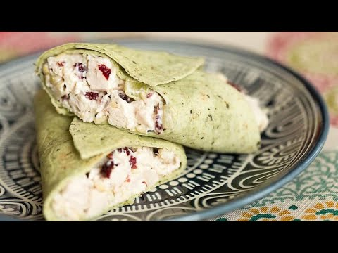 Cranberry Almond Chicken Salad Easy Lunch!