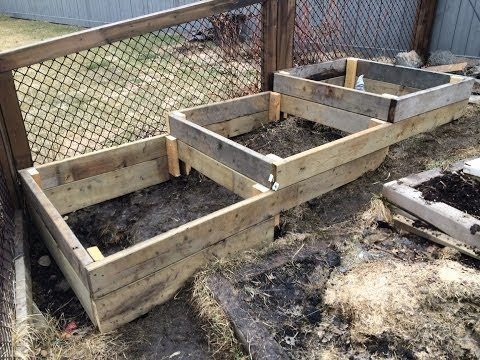 How To Build Raised Garden Beds On Slope Or Hillside Easy Simple And Free Or Cheap