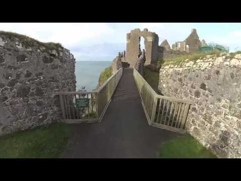 IRELAND DAY 3 - (Northern Ireland) Dunluce Castle, The Dark Hedges, County Antrim