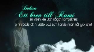 Dekan - Ett brev till Rami