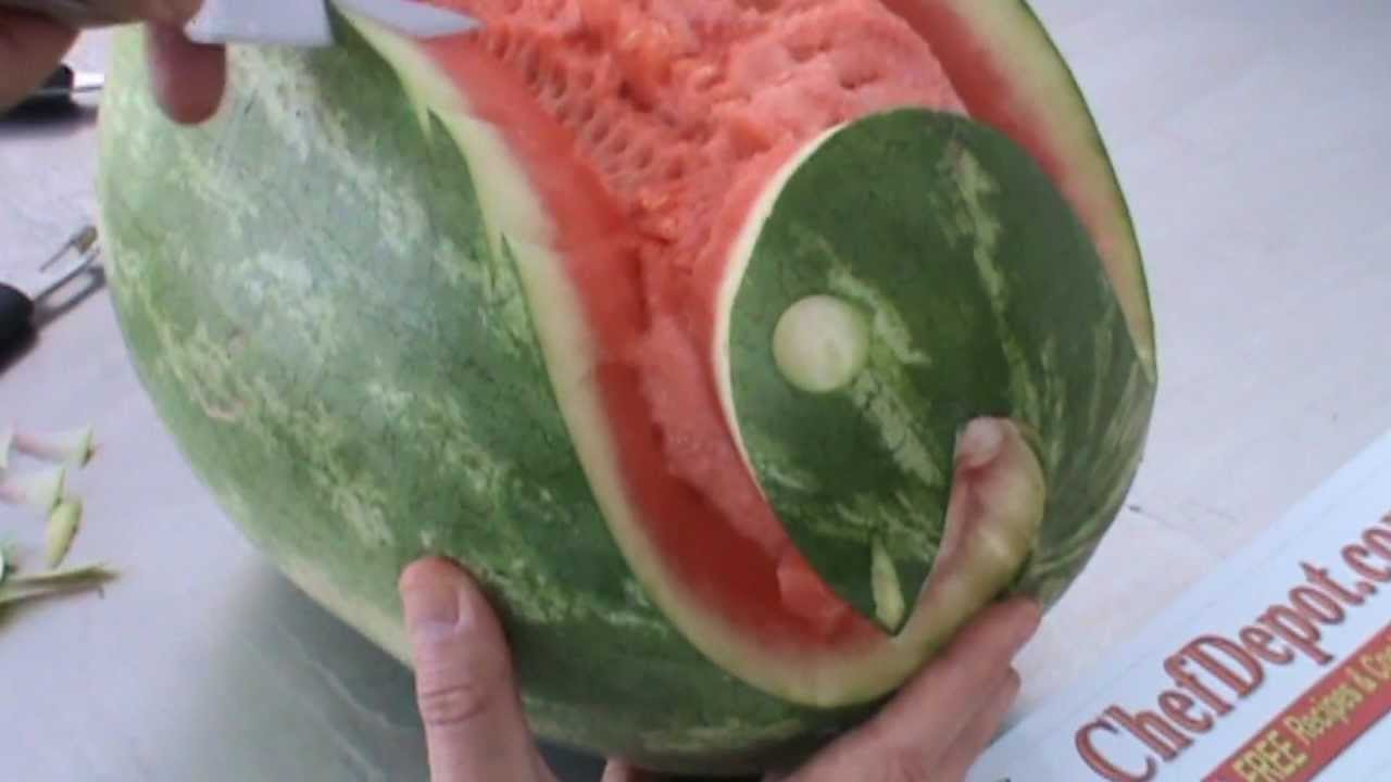 Watermelon Carvings Youtube
