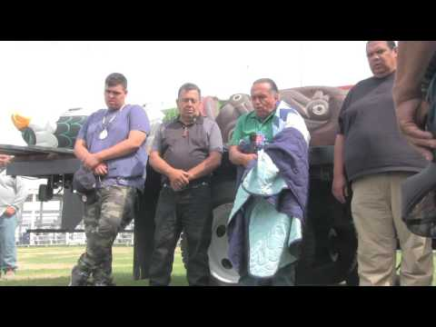 Totem Pole Journey visits the Cheyenne River Sioux for Ceremony and Blessing