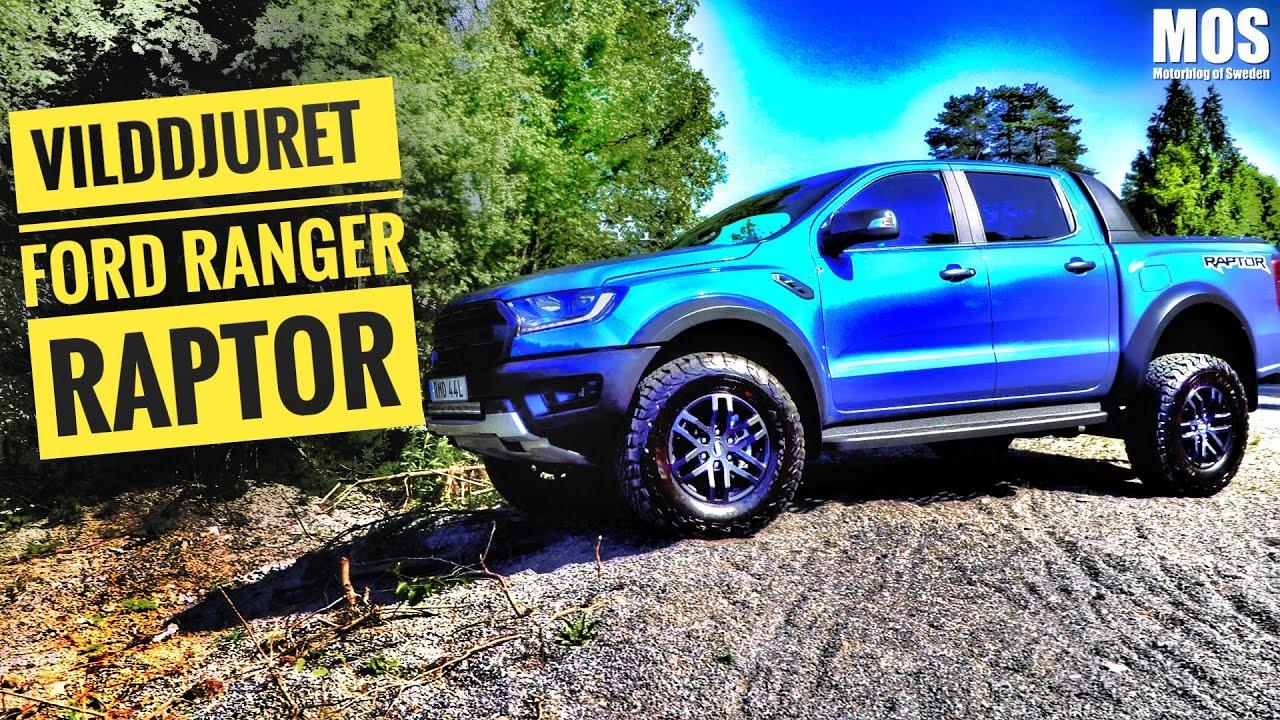 Vilddjuret Ford Ranger Raptor