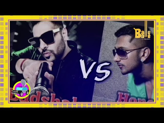 Yo Yo Honey Singh V/S Badshah | Fan Battle | Balle Balle TV
