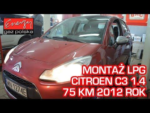 Montaż LPG Citroen C3 1.4 75KM 2012r w Energy Gaz Polska na auto gaz Lovato Smart