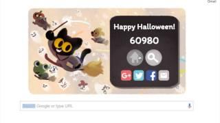 Google Doodle   Halloween 2016