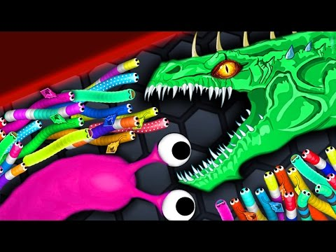 Thumbnail: Slither.io - ANGRY MONSTER SNAKE vs 9400 SNAKES // Epic Slitherio Gameplay (Slitherio Funny Moments)