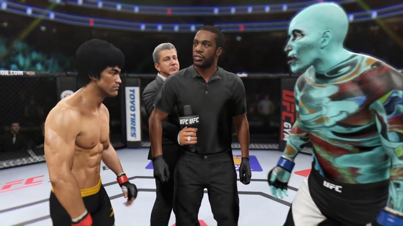 Bruce Lee vs. Skull Attack - EA Sports UFC 2 - Dragon Fights 🔥🐲