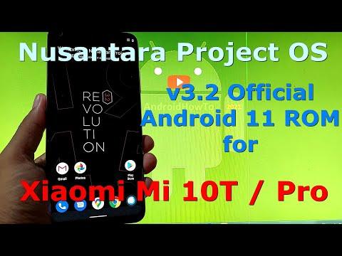 Nusantara Project OS v3.2 Official for Xiaomi Mi 10T / Mi 10T Pro ( Apollo / Pro ) Android 11 ROM