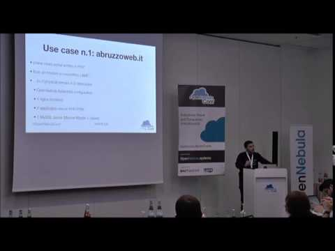 OpenNebulaConf 2014 - Geo distributed datacenter: the DNS way by Alberto Zuin
