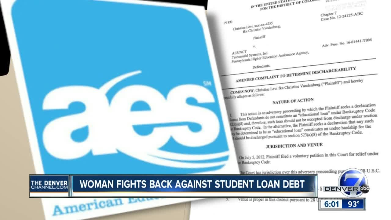 Colorado Woman Fights Student Loan Debt As Some Might Get Forgiven