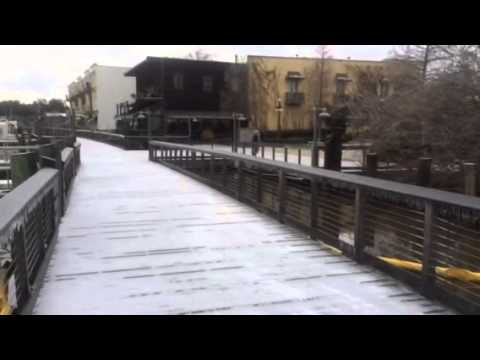 Winter weather video from the Georgetown Waterfront