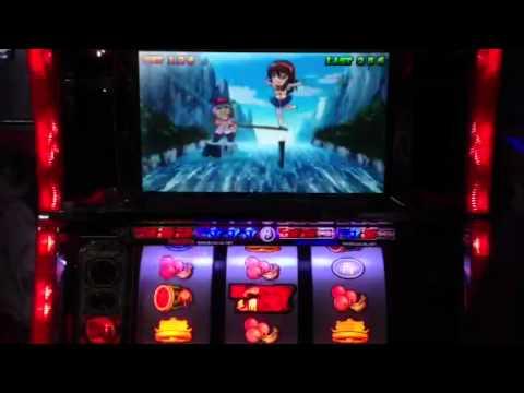 5号機の名機格闘美神のセット打ちでBIGを揃えてからのノーマルBIGの動画です。