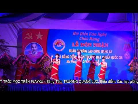 THCS Thai Nguyen - Le Don Nhan - Hoi Dien Van Nghe - 10. MAT TROI MOC TREN PLAYKU