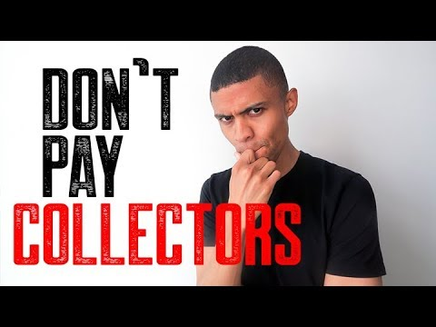 WHY YOU DON'T PAY COLLECTORS || 700 CREDIT SCORE