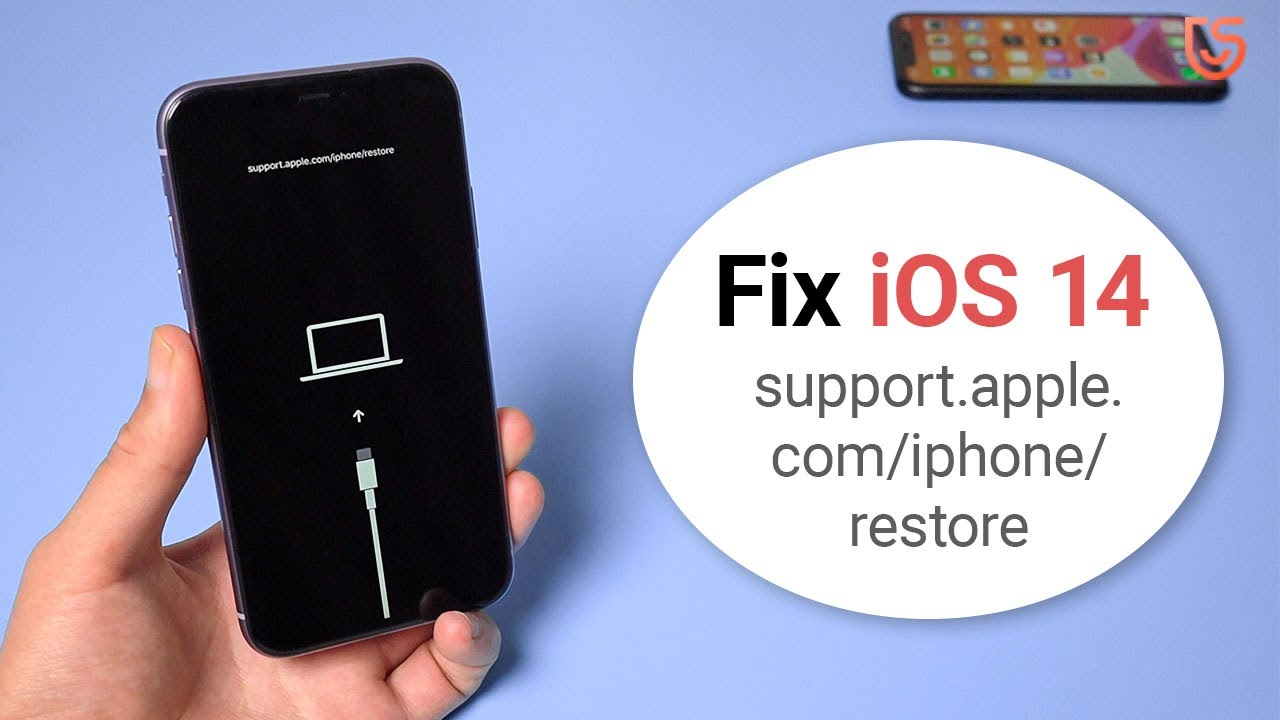 How to Fix support.apple.com/iphone/restore on iOS 14 iPhone 11 Pro/11/XR/X /8/7 2020 - YouTube