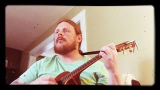 Mike Harper ukulele cover: CCR - Lookin' Out My Back Door