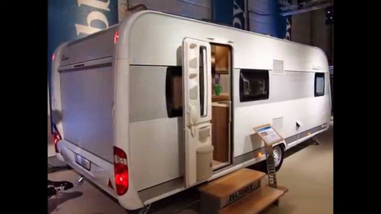 Hobby caravan De Luxe easy 560 KMFe 2014  YouTube