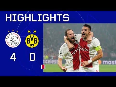 Ajax Borussia Dortmund Goals And Highlights
