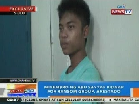 NTG: Pinaghihinalaang miyembro ng Abu Sayyaf kidnap for ransom group, inaresto