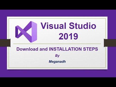 Visual Studio 2019 Installation