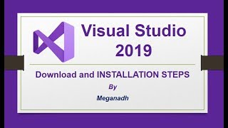 Visual Studio 2019 Installation