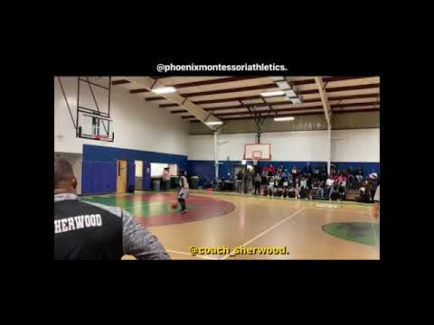 Phoenix Montessori Academy (NISL) ???????????? 2019-2020 Boys Basketball Highlights Vol. 2