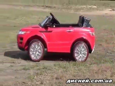 Детский электромобиль M 2398 (MP4) EBR-3 джип Land Rover, мягкие EVA колеса - дисней.com.ua