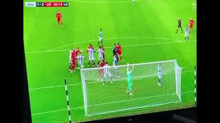 Allison Scores against West Brom  Liverpool vs West Brom