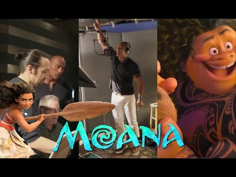 LinManuel Miranda & Dwayne The Rock Johnson making of the song Youre Welcome  Moana