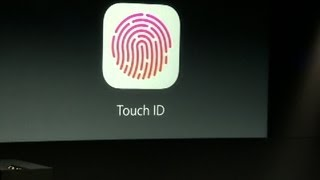 CNET News - Apple demos Touch ID fingerprint reader for iPhone 5S
