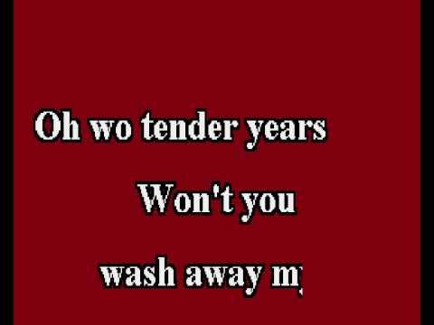 Tender Years karaoke
