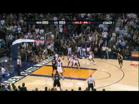 Udonis Haslem at the buzzer vs WAR 01-12-08