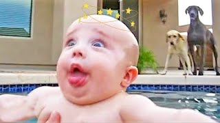 Cute Babies Playing With Water is EVERYTHING - JustSmile