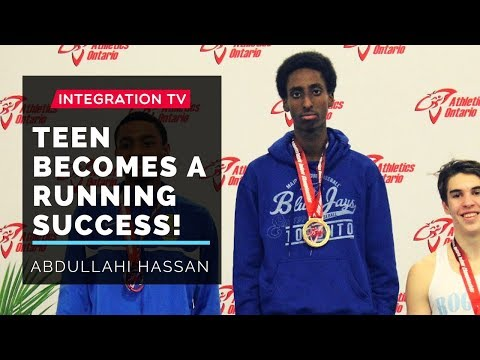 Somali teen becomes a success in running after 8 months!