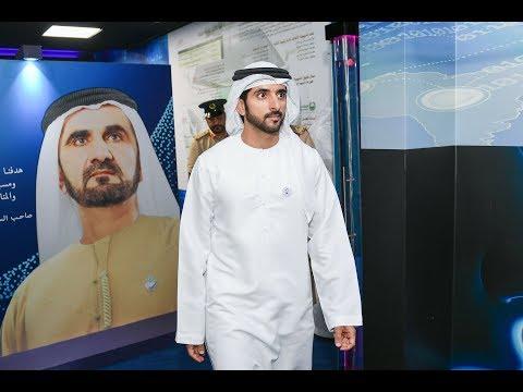 حمدان بن محمد يتفقّد مشروع المنطقة الذكية التابع لمركز شرطة المرقبّات في دبي