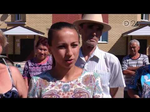 Жильцы соципотечных домов в Столбищах вынуждены пользоваться ржавой водой